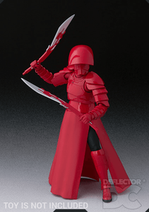 Star Wars Bandai S.H. Figuarts Elite Praetorian Guard (Double Blade) TLJ Display Case