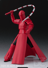 Load image into Gallery viewer, Star Wars Bandai S.H. Figuarts Elite Praetorian Guard (Whip Staff) TLJ Display Case