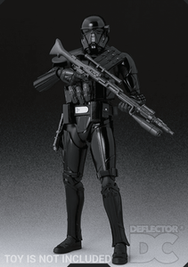 Star Wars Bandai S.H. Figuarts Death Trooper Specialist RO Display Case