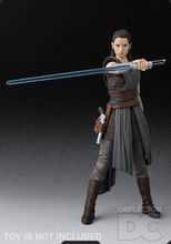 Load image into Gallery viewer, Star Wars Bandai S.H. Figuarts Rey TLJ Display Case