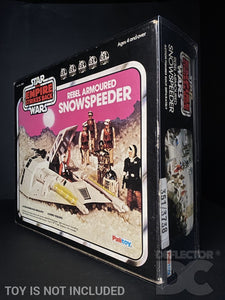 Star Wars Vintage Rebel Armoured Snowspeeder Display Case