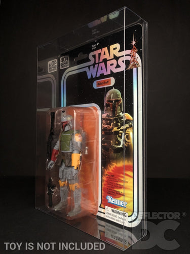 Star Wars SDCC 2019 40th Anniversary Boba Fett Figure Display Case