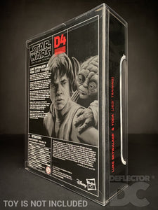 Star Wars TESB 40th Anniversary Luke Skywalker & Yoda Display Case