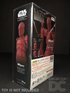 Star Wars Bandai S.H. Figuarts Elite Praetorian Guard (Whip Staff) TLJ Display Case