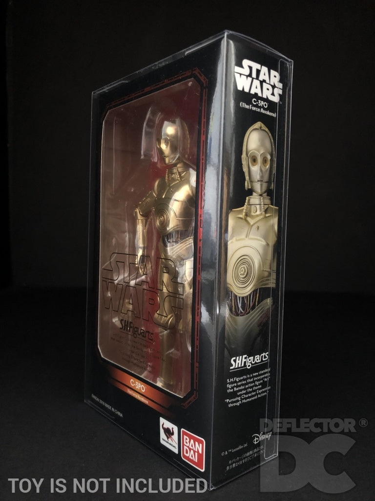 Star Wars Bandai S.H. Figuarts C-3PO TFA Display Case