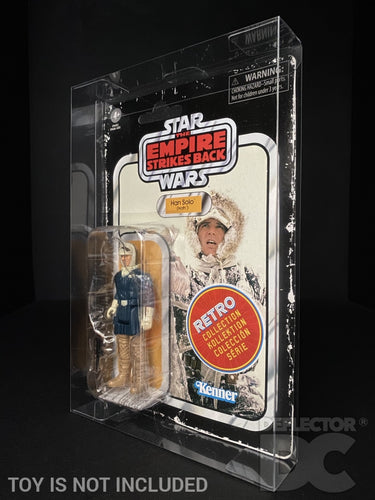 The Empire Strikes Back Retro Collection 3.75 Inch Figure Display Case