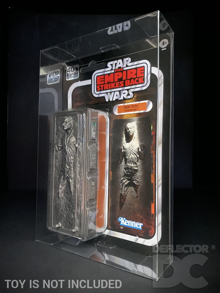 Star Wars The Black Series Han Solo Carbonite Amazon Exclusive DAMAGED CARD