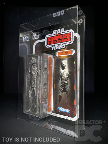 Star Wars TESB 40th Anniversary Han Solo Carbonite Display Case