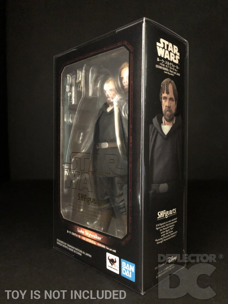 Star Wars Bandai S.H. Figuarts Luke Skywalker TLJ Display Case