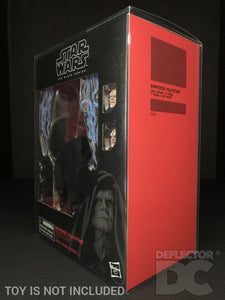 Star Wars The Black Series 6 Inch Emperor Palpatine with Throne