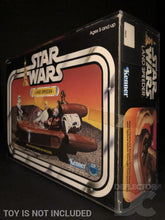 Load image into Gallery viewer, Star Wars Vintage Land Speeder Display Case