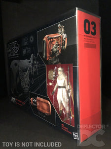 Star Wars The Black Series Rey Speeder Display Case