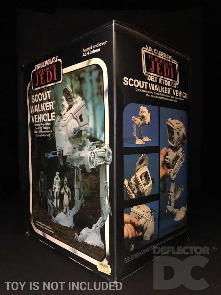 Star Wars Vintage Scout Walker Vehicle Display Case