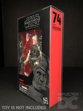 Load image into Gallery viewer, Star Wars The Black Series (Red/Black) 6 Inch Figure Display Case