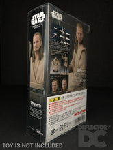 Load image into Gallery viewer, Star Wars Bandai S.H. Figuarts Qui-Gon Jinn TPM Display Case