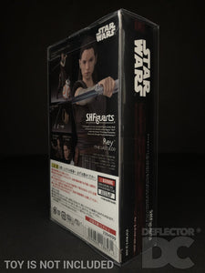 Star Wars Bandai S.H. Figuarts Rey TLJ Display Case