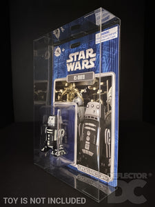 Star Wars Disney Parks Droid Factory 3.75 Inch Figure MOC Display Case