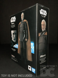 Star Wars Bandai S.H. Figuarts Count Dooku AOTC Display Case