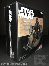 Load image into Gallery viewer, Star Wars Bandai S.H. Figuarts Sith Speeder TPM Display Case