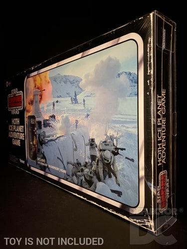 The Empire Strikes Back Hoth Ice planet Adventure Game Display Case