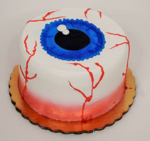 Large Eyeball Cake