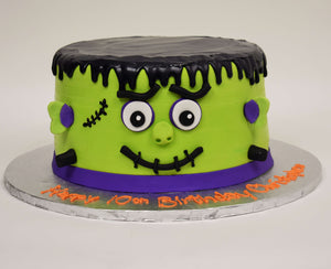 Fun Frankenstein Cake