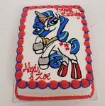 McArthur's Bakery Custom Cake With Blue My Little Pony
