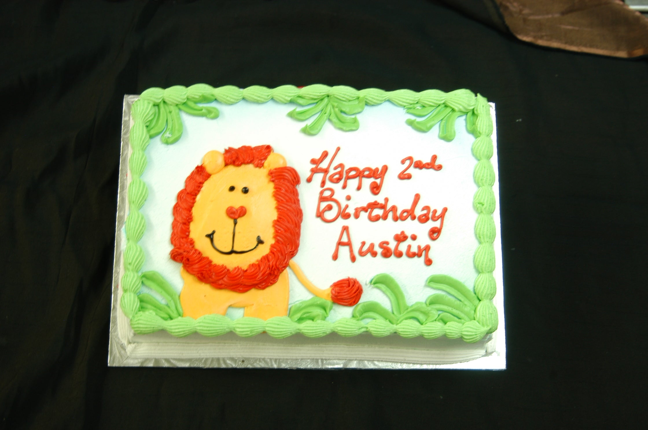 Happy Lion Cake