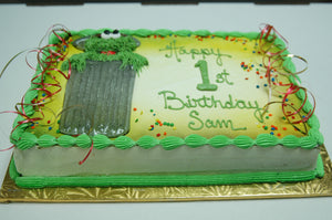 McArthur's Bakery Custom Cake with Oscar The Grouch