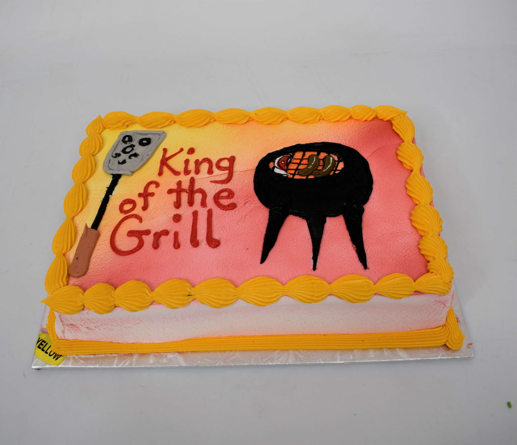 King Of The Grill Cake
