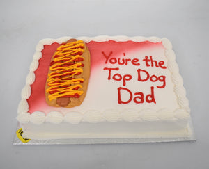 You're Top Dog Dad Cake