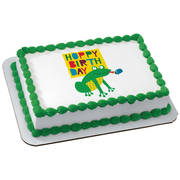 McArthur's Bakery Custom Cake With Birthday Buddies Frog