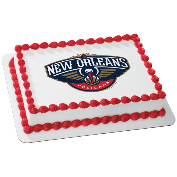 MaArthur's Bakery Custom Cake with New Orleans Peligans