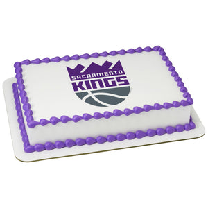 MaArthur's Bakery Custom Cake with Sacramento Kings