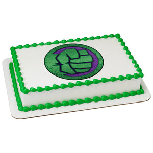 MaArthur's Bakery Custom Cake with Avengers, Hulk Fist