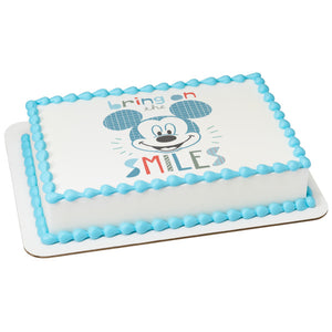 MaArthur's Bakery Custom Cake with Mickey Mouse Scan