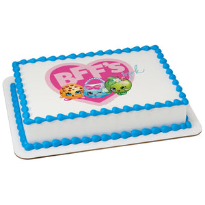 McArthur's Bakery Custom Cake with Shopkins Scan, Best Friends Unite