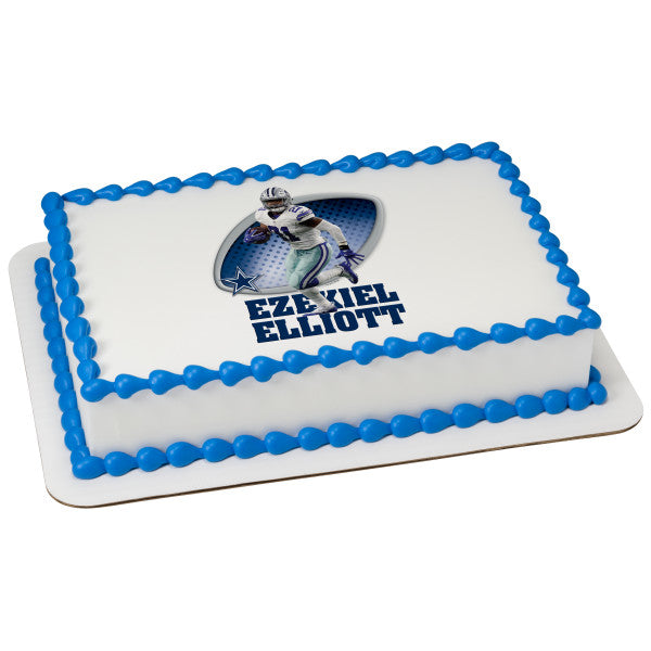 MaArthur's Bakery Custom Cake with Ezekiel Elliott
