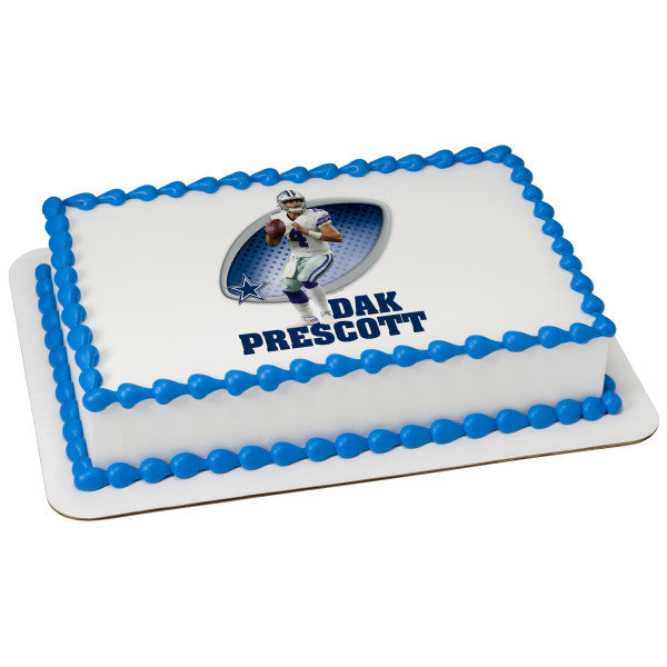 MaArthur's Bakery Custom Cake with Dak Prescott Cowboys