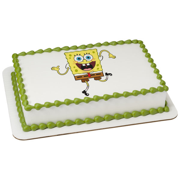 McArthur's Bakery Custom Cake with Spongebob Squarepants Wacky Scan