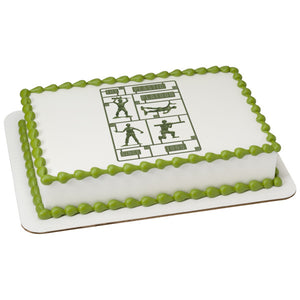McArthur's Bakery Custom Cake with Toy Story, Plastic Platoon Scan
