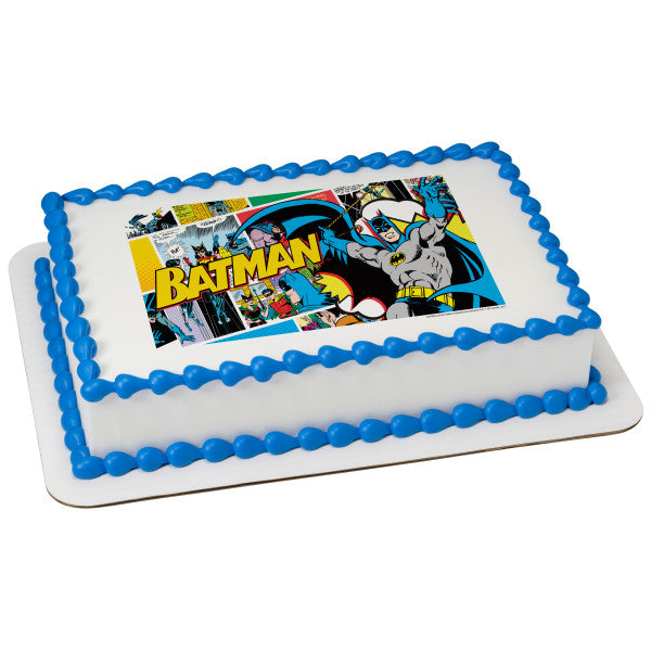 MaArthur's Bakery Custom Cake with Batman Pop Scan