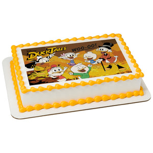 McArthur's Bakery Custom Cake with Duck Tails Scan