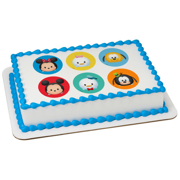 McArthur's Bakery Custom Cake with Tsum Tsum Tsumtastic Scan