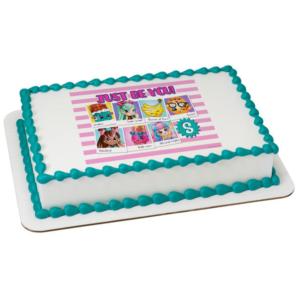 McArthur's Bakery Custom Cake with Shopkins Scan