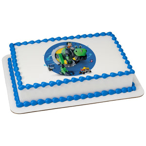McArthur's Bakery Custom Cake Rusty Rivets Time to Bolt