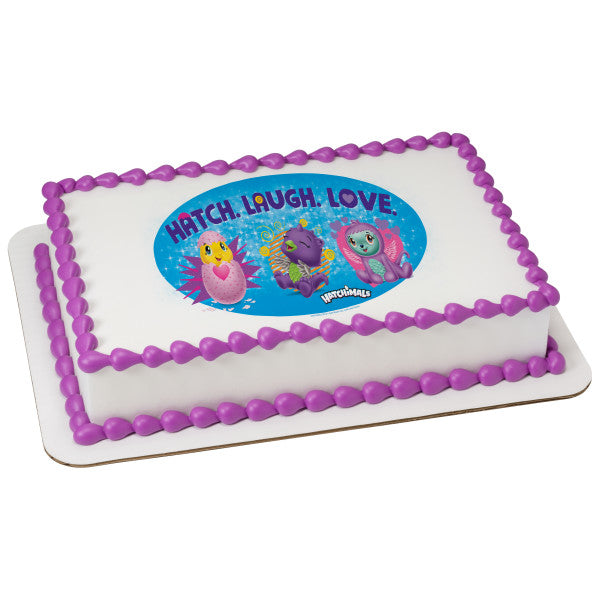 McArthur's Bakery Custom Cake Hitchimals Hatch, Laugh, Love