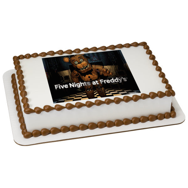 McArthur's Bakery Custom Cake Five Night's at Freddy's Freddy