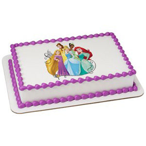 McArthur's Bakery Custom Cake with Disney Princess Scan