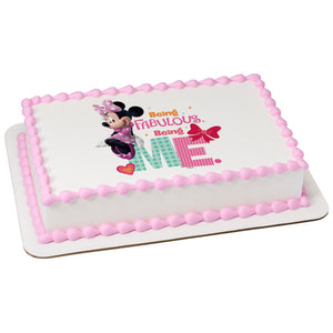 Minnie Being Me Cake